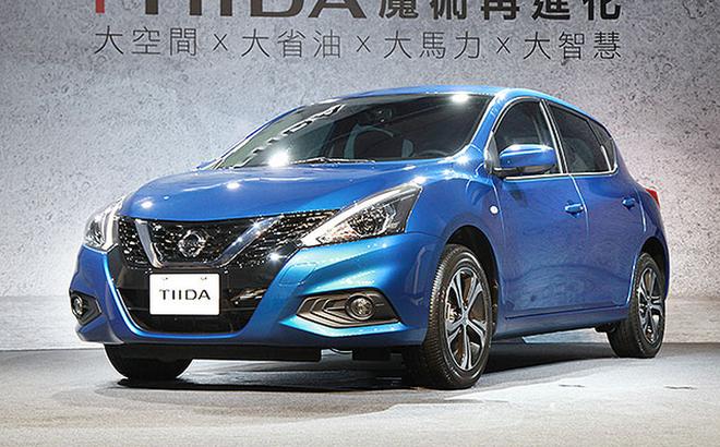 本土化设计裕隆日产TIIDA实车首发