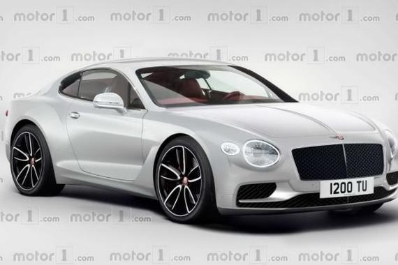 或法兰克福车展亮相 全新欧陆GT假想图