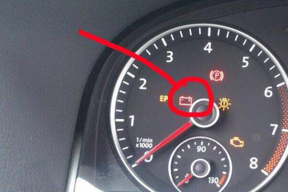 行驶中充电指示灯点亮,<em>发电机</em>不<em>发电</em>了