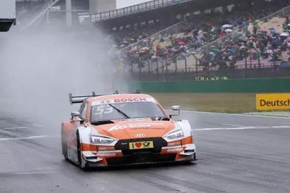 奥迪全新RS5 DTM夺得德国房车大师赛冠军!