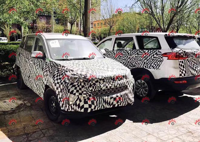 宝骏全新7座SUV最新谍照 或命名宝骏530高清图片