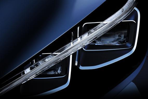 日产发布新聆风首张预告图 配LED大灯组