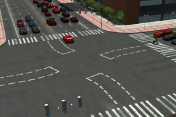 视频:多数惨烈车祸都发生在十字路口!