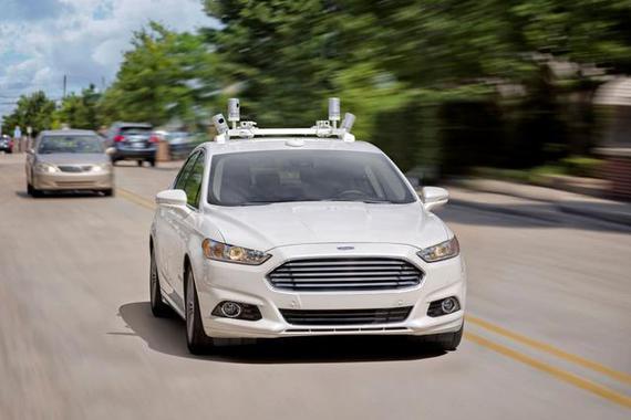 福特在自动驾驶领域排行第一 竞争太激烈