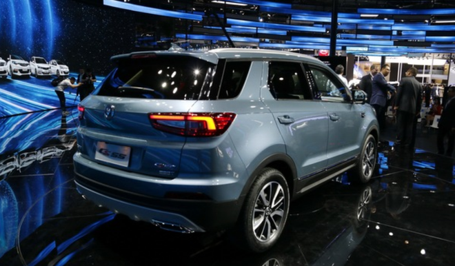紧凑型SUV 长安CS55将今年四季度上市