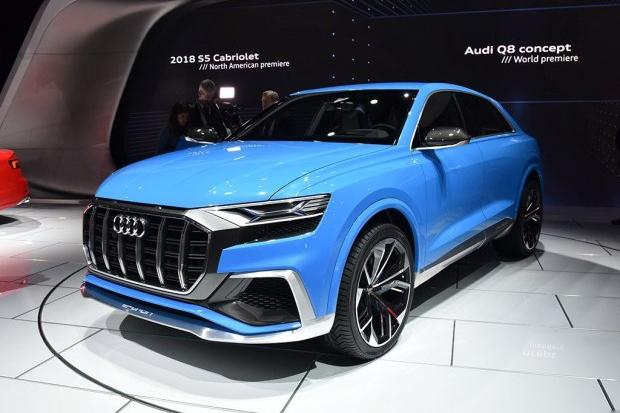 奥迪计划三年推10款新车 多款车型换代