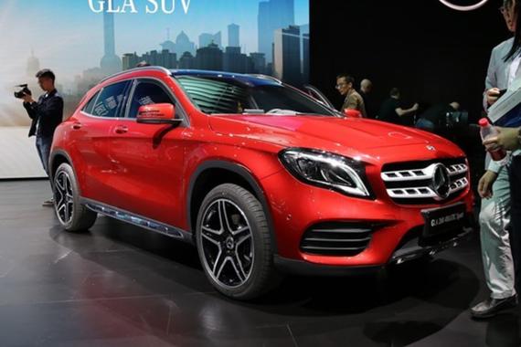 国产奔驰新款GLA正式下线 将于6月19日上市