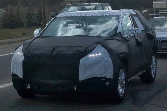 丰富SUV产品线 疑似雪佛兰全新SUV谍照