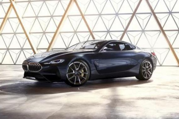 全新宝马8系概念车发布 2018年量产