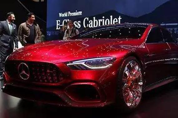 AMG GT概念车6月5日国内首发,搭载4.0T!