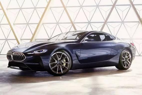全新宝马8系概念车首发,2018年正式量产