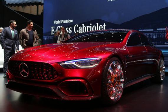 AMG GT概念车6月5日国内首发 搭载4.0T