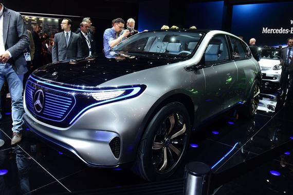奔驰纯电动掀背概念车将于法兰克福发布