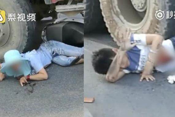 视频:货车撞倒电瓶车,母子瞬间阴阳两隔