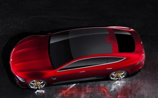 梅赛德斯-AMG GT四门概念跑车国内首发
