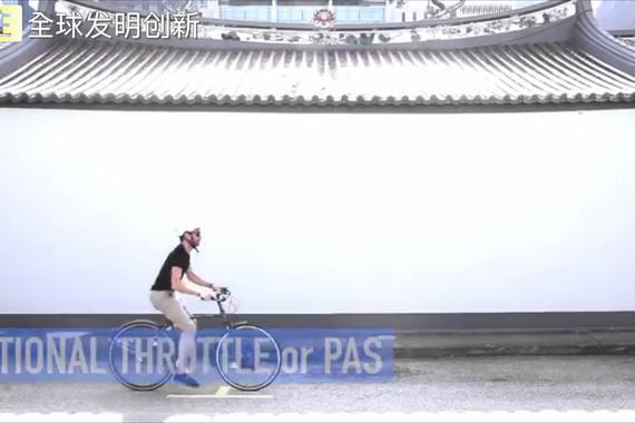 视频:1分钟将单车变电动单车