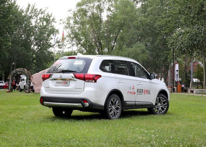 欧蓝德新增车款上市 指导价16.98万元