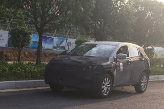 吉利全新紧凑型SUV谍照 年内发布