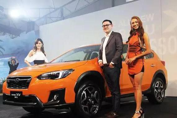 斯巴鲁第2代XV台湾地区抢先发表,售价21.3~24.3万
