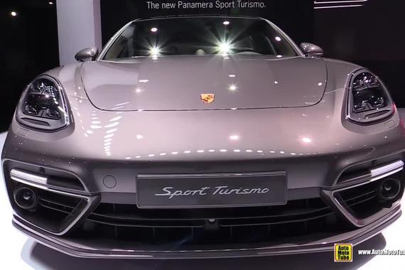 视频:保时捷Panamera Turbo ST实拍