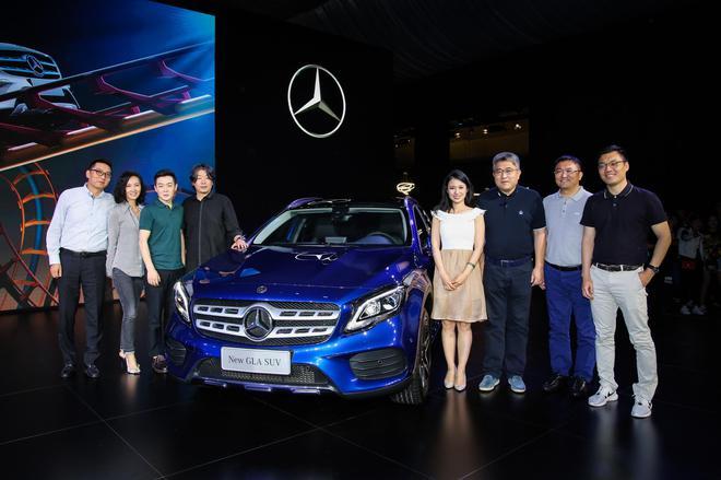 售价27.18万-39.9万元 新一代奔驰GLA上市