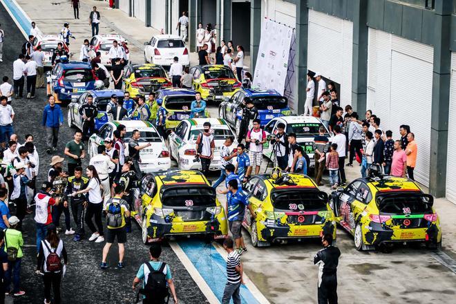 CRCC中国汽车场地拉力锦标赛首站引爆贵阳