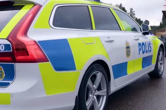 瑞典警察测沃尔沃新警车