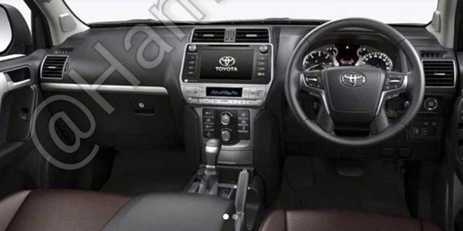 外观内饰再调整 丰田普拉多将第二次改款