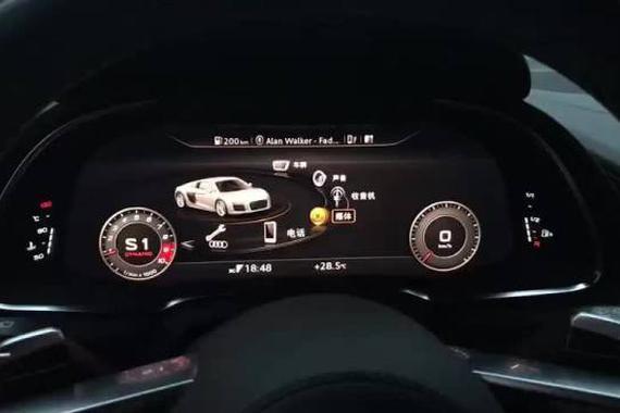 改变未来 奥迪R8超酷仪表盘