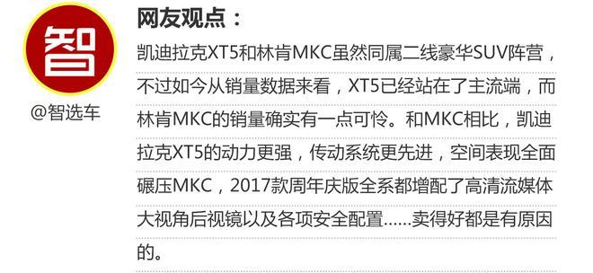 相对论.凯迪拉克XT5 VS 林肯MKC
