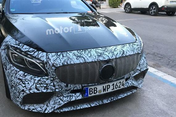 新款奔驰S级Coupe谍照 法兰克福车展首发