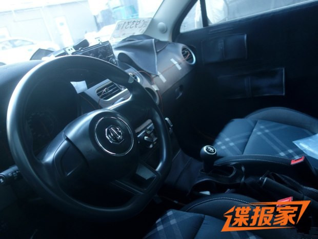 全新家族风格 新款MG3或推自动挡车型