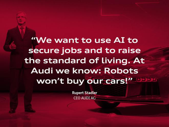 奥迪CEO带您解读未来科技
