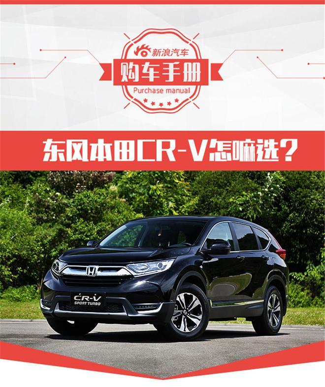 性价比更出色 东风本田CR-V购车手册