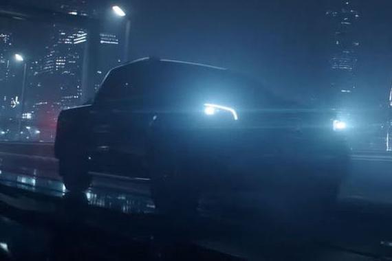 奔驰X级皮卡预告图发布 7月18日全球首发