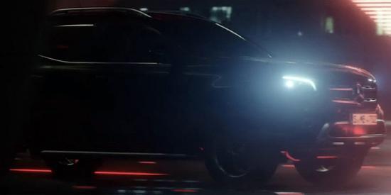 高端皮卡!奔驰X-Class皮卡预告片发布