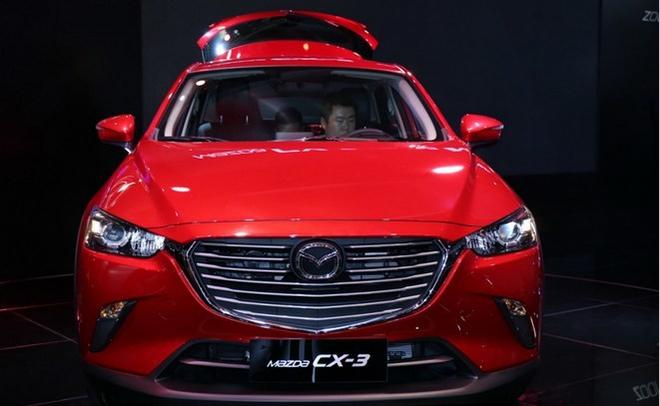 进口马自达CX-3年底上市 国产计划或暂停