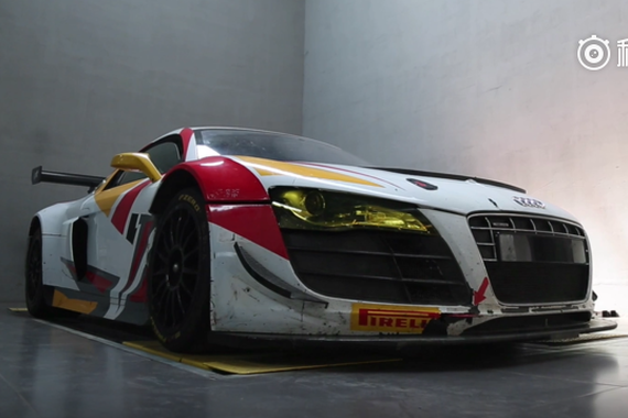 视频:解析奥迪R8 LMS版赛车