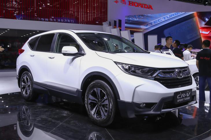全新本田CR-V亮相长春车展 动力提升