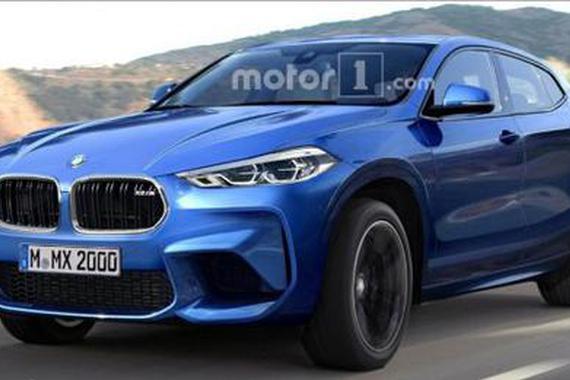 外观设计更加运动 宝马X2 M车型假想图