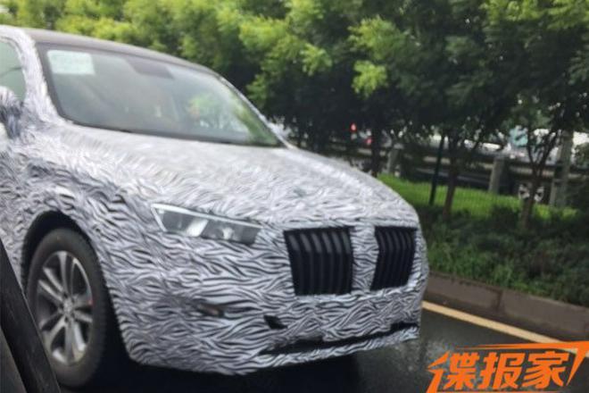 定位轿跑SUV 宝沃BX6量产版谍照曝光