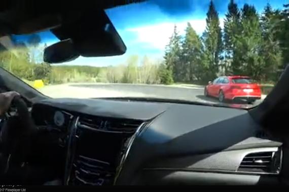 视频:王牌对王牌 凯迪拉克CTS-V vs 奥迪RS 6