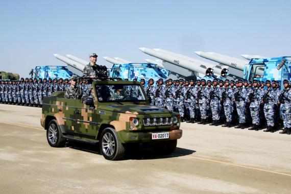 建军90周年 看中国是如何完爆世界那些最强阅兵车的