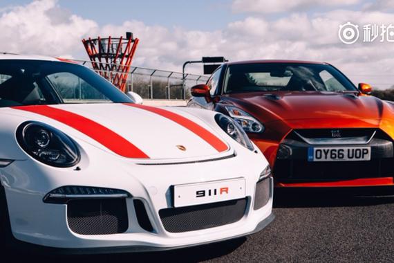 复古碰撞新派!911R对决GT-R