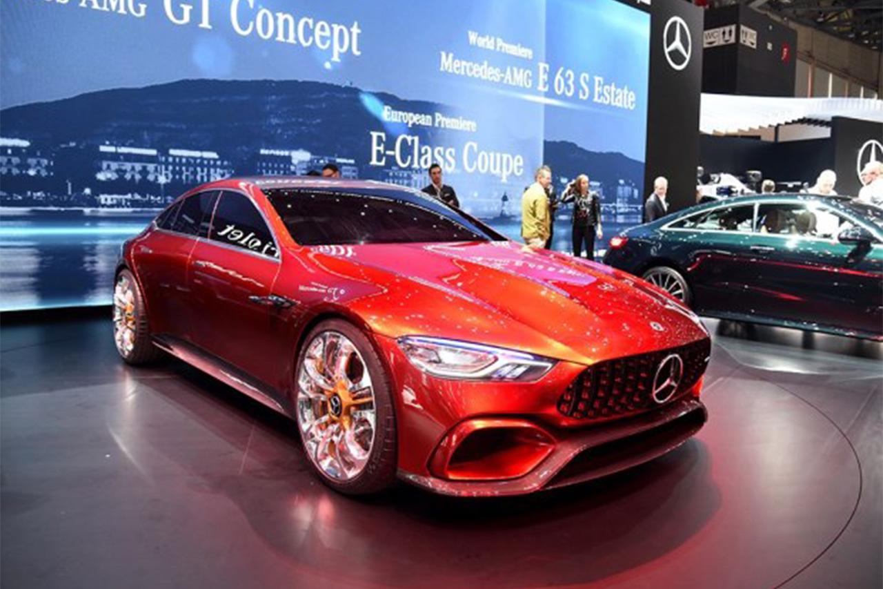 奔驰新概念车或定位双座轿跑8月20日发布