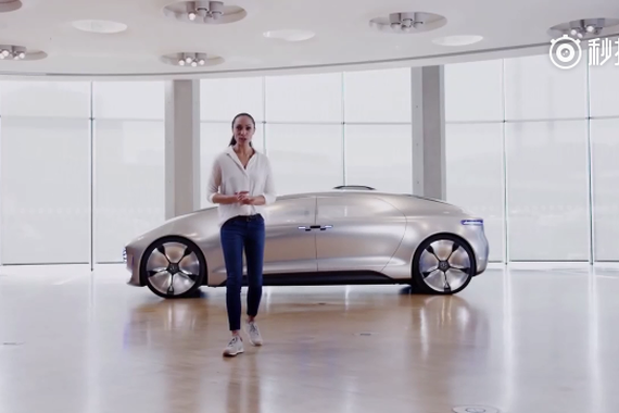视频:奔驰告诉你什么是未来