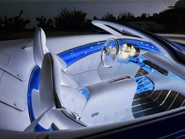 预见未来 迈巴赫 6敞篷概念跑车首发