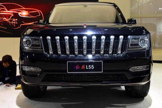 最强国产SUV将上市,红旗LS5人气或超路虎揽胜