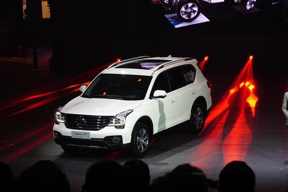 广汽传祺GS7正式上市 售14.98-20.98万元