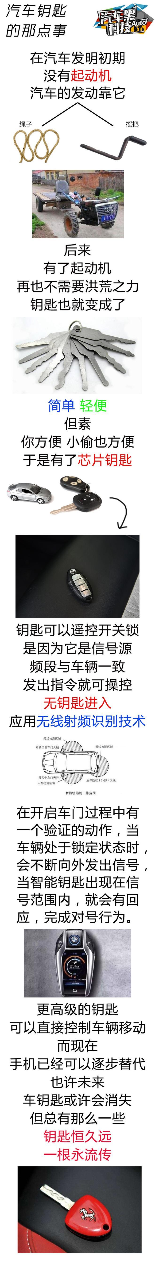 原始or智能 你的车钥匙停留在哪一代